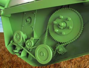 жатка для уборки трав Ягуар 3копия